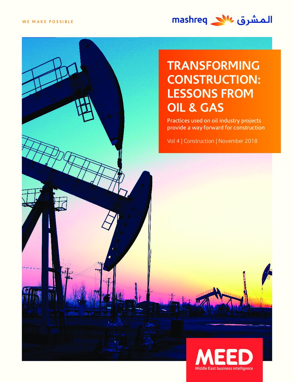 Transforming Construction: Lessons from Oil & Gas
