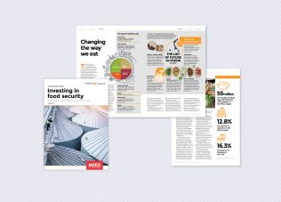 Investing in food security