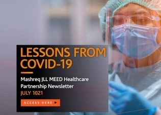 Lessons from Covid-19 – Mashreq JLL MEED Healthcare Partnership Newsletter – July 2021